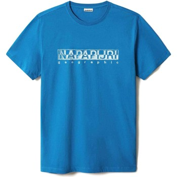 Υφασμάτινα Άνδρας T-shirt με κοντά μανίκια Napapijri NP0A4F9O Μπλε
