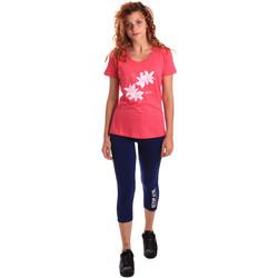 Υφασμάτινα Γυναίκα Σετ από φόρμες Key Up 5K79A 0001 Ροζ