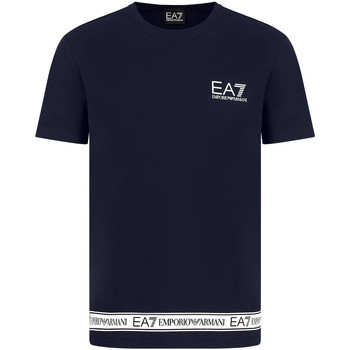 Υφασμάτινα Άνδρας T-shirt με κοντά μανίκια Ea7 Emporio Armani 3KPT05 PJ03Z Μπλε