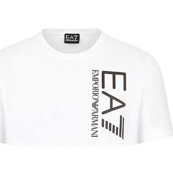 Υφασμάτινα Άνδρας T-shirt με κοντά μανίκια Ea7 Emporio Armani 3KPT10 PJ7RZ λευκό