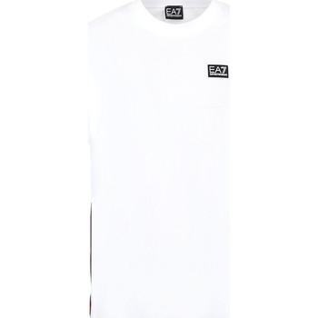 Υφασμάτινα Άνδρας T-shirt με κοντά μανίκια Ea7 Emporio Armani 3KPT13 PJ02Z λευκό