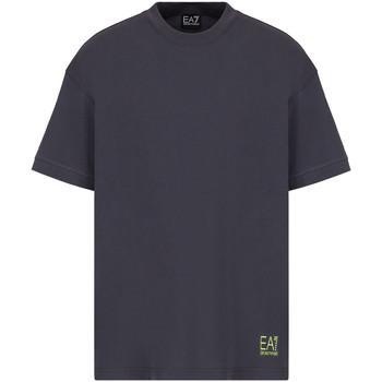 Υφασμάτινα Άνδρας T-shirt με κοντά μανίκια Ea7 Emporio Armani 3KPT58 PJ02Z Γκρί