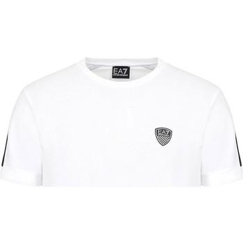 Υφασμάτινα Άνδρας T-shirt με κοντά μανίκια Ea7 Emporio Armani 3KPT56 PJ4MZ λευκό