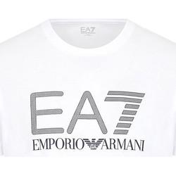 Υφασμάτινα Άνδρας T-shirt με κοντά μανίκια Ea7 Emporio Armani 3KPT81 PJM9Z λευκό