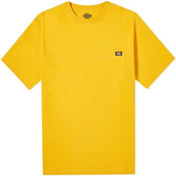 Υφασμάτινα Άνδρας T-shirt με κοντά μανίκια Dickies DK0A4TMOB591 Κίτρινος