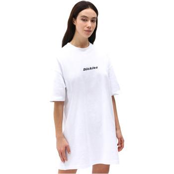Υφασμάτινα Γυναίκα Κοντά Φορέματα Dickies DK0A4XB8WHX1 λευκό