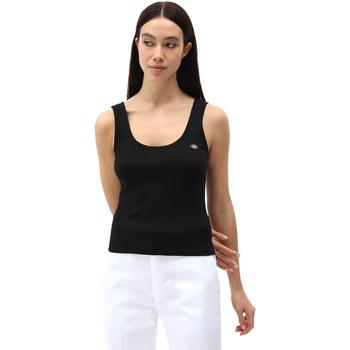 Υφασμάτινα Γυναίκα Αμάνικα / T-shirts χωρίς μανίκια Dickies DK0A4XB9BLK1 Μαύρος