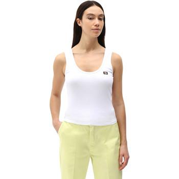 Υφασμάτινα Γυναίκα Αμάνικα / T-shirts χωρίς μανίκια Dickies DK0A4XB9WHX1 λευκό