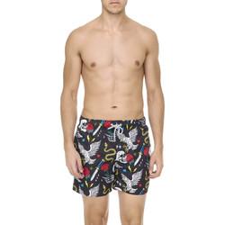 Υφασμάτινα Άνδρας Μαγιώ / shorts για την παραλία F * * K  Μαύρος