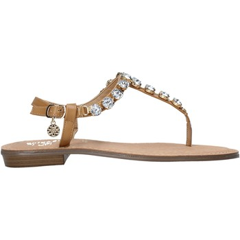 Παπούτσια Γυναίκα Σαγιονάρες Gold&gold A21 GL618 καφέ