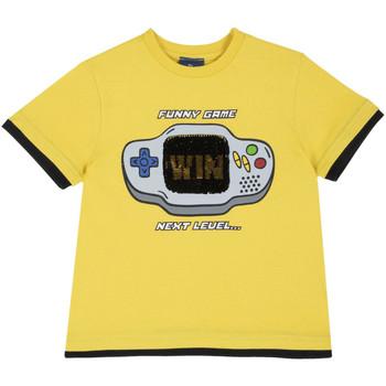 Υφασμάτινα Παιδί T-shirt με κοντά μανίκια Chicco 09067292000000 Κίτρινος