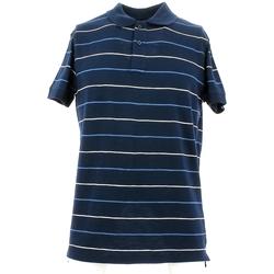 Υφασμάτινα Άνδρας Πόλο με κοντά μανίκια  City Wear THMR5171 Μπλε
