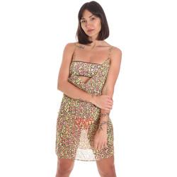 Υφασμάτινα Γυναίκα Κοντά Φορέματα Me Fui M20-0456X2 Κίτρινος