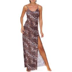 Υφασμάτινα Γυναίκα Μακριά Φορέματα Me Fui M20-0462X1 καφέ