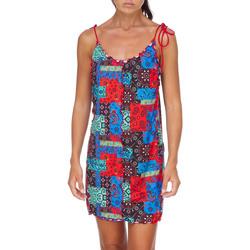 Υφασμάτινα Γυναίκα Κοντά Φορέματα Me Fui M20-0361X1 το κόκκινο