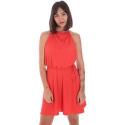 Υφασμάτινα Γυναίκα Κοντά Φορέματα Me Fui M20-0371AR το κόκκινο