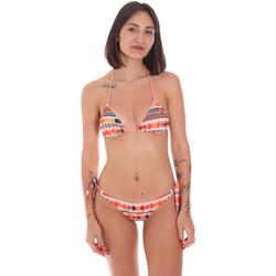 Υφασμάτινα Γυναίκα μαγιό 2 κομμάτια Me Fui M20-0033X2 Πορτοκάλι