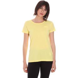 Υφασμάτινα Γυναίκα T-shirt με κοντά μανίκια Diadora 102175886 Κίτρινος