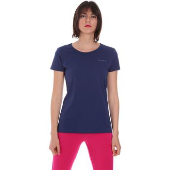 Υφασμάτινα Γυναίκα T-shirt με κοντά μανίκια Diadora 102175886 Μπλε