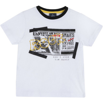 Υφασμάτινα Παιδί T-shirt με κοντά μανίκια Chicco 09067290000000 λευκό