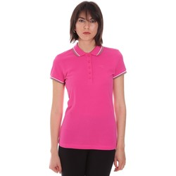 Υφασμάτινα Γυναίκα Πόλο με κοντά μανίκια  Diadora 102161015 Ροζ