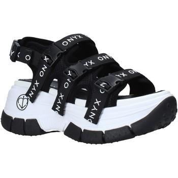 Παπούτσια Γυναίκα Σπορ σανδάλια Onyx S21-S00OX020 Μαύρος