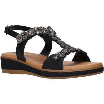 Παπούτσια Γυναίκα Σανδάλια / Πέδιλα Susimoda 2048 Μαύρος