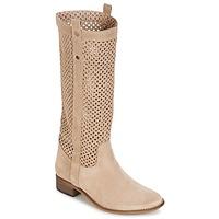 Παπούτσια Γυναίκα Μπότες για την πόλη Betty London DIVOUI Beige