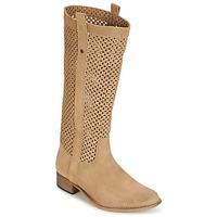Παπούτσια Γυναίκα Μπότες για την πόλη Betty London DIVOUI CAMEL