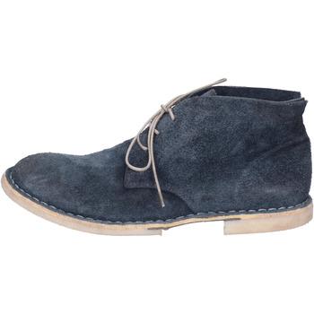 Παπούτσια Γυναίκα Μποτίνια Moma Μπότες αστραγάλου BH333 Μπλέ