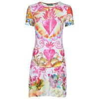 Υφασμάτινα Γυναίκα Κοντά Φορέματα Desigual TATTO Multicolour