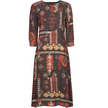 Υφασμάτινα Γυναίκα Μακριά Φορέματα Desigual ALBURQUERQUE Multicolour