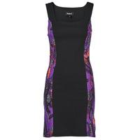 Υφασμάτινα Γυναίκα Κοντά Φορέματα Desigual BATON ROUGE Multicolour