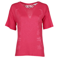 Υφασμάτινα Γυναίκα T-shirt με κοντά μανίκια Desigual CLEMENTINE Red