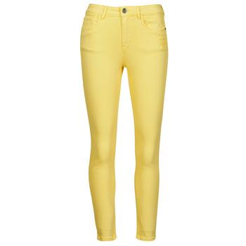 Υφασμάτινα Γυναίκα Παντελόνια Πεντάτσεπα Desigual ALBA Yellow