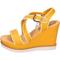 Παπούτσια Γυναίκα Σανδάλια / Πέδιλα Enrico Coveri BH347 Κίτρινος
