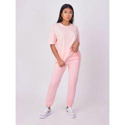 Υφασμάτινα Γυναίκα T-shirt με κοντά μανίκια Project X Paris  Ροζ