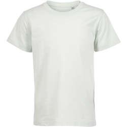 Υφασμάτινα Παιδί T-shirt με κοντά μανίκια Sols Camiseta de niño con cuello redondo Verde