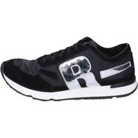 Παπούτσια Άνδρας Χαμηλά Sneakers Rucoline BH395 Μαύρος