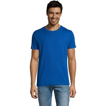 Υφασμάτινα Άνδρας T-shirt με κοντά μανίκια Sols Martin camiseta de hombre Azul