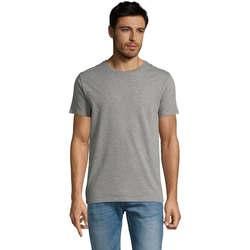 Υφασμάτινα Άνδρας T-shirt με κοντά μανίκια Sols Martin camiseta de hombre Gris