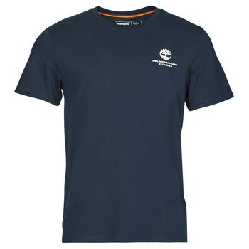 Υφασμάτινα Άνδρας T-shirt με κοντά μανίκια Timberland CC ST TEE Marine