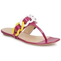 Παπούτσια Γυναίκα Σαγιονάρες Versus by Versace FSD364C Ροζ / Άσπρο / Yellow