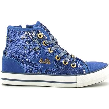 Παπούτσια Κορίτσι Ψηλά Sneakers Lulu LV010070T Μπλε
