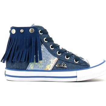 Παπούτσια Κορίτσι Ψηλά Sneakers Lulu LV010060T Μπλε