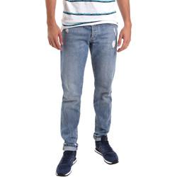 Υφασμάτινα Άνδρας Skinny Τζιν  Sseinse PJE625SS Μπλε