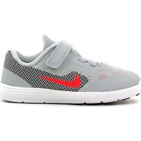 Παπούτσια Παιδί Χαμηλά Sneakers Nike 819415 Γκρί
