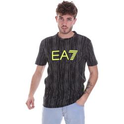 Υφασμάτινα Άνδρας T-shirt με κοντά μανίκια Ea7 Emporio Armani 6HPT04 PJB1Z Μαύρος