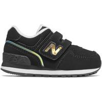 Παπούτσια Παιδί Χαμηλά Sneakers New Balance NBIV574MTK Μαύρος
