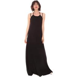 Υφασμάτινα Γυναίκα Μακριά Φορέματα Trussardi 56D00519-1T005183 Μαύρος